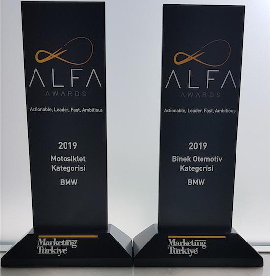 Borusan Otomotiv'e A.L.F.A Awards'tan iki ödül