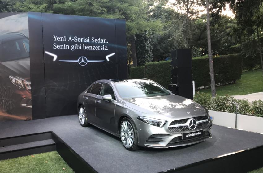 Yeni A Serisi Sedan Türkiye'de