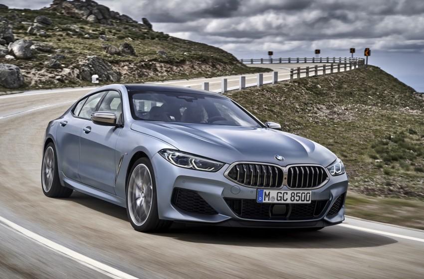 BMW 8 Serisi Grand Coupésonbaharda Türkiye'de