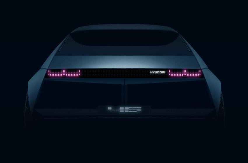 Hyundai'nin Yeni Elektriklisi: 『45』EV Concept