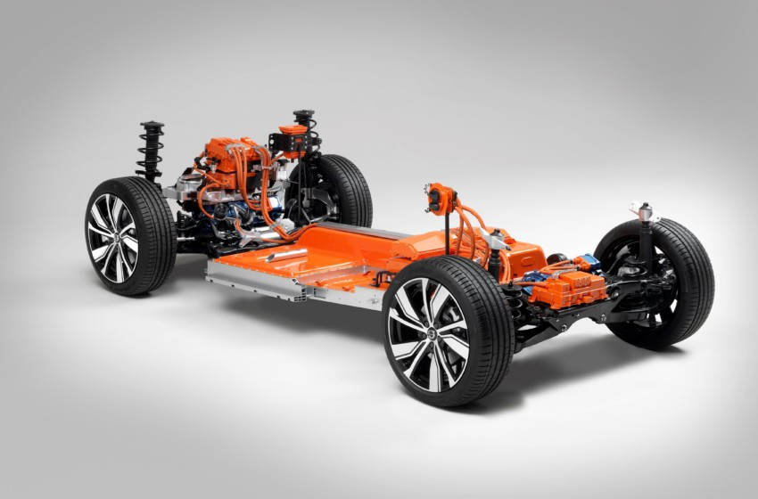 Volvo'nun ilk tam elektrikli otomobili XC40 olacak
