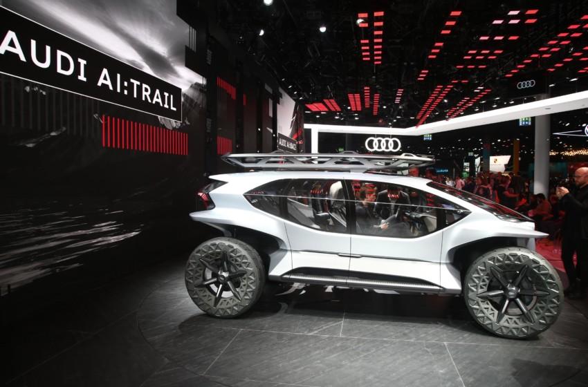Audi'den elektrikli ve otonom off-road aracı AI: TRAIL