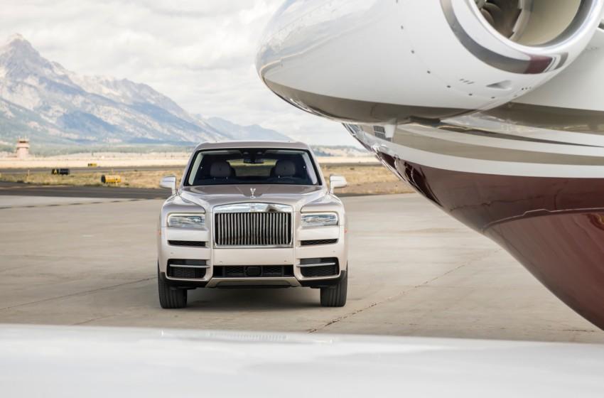 İlk Rolls Royce SUV'u Cullinan Türkiye'de