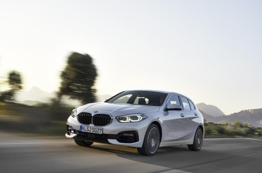 Üçüncü nesil BMW 1 Serisi piyasada