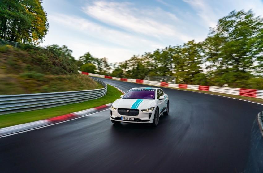 I-PACE RACE eTAXIile Nürburgring deneyimi