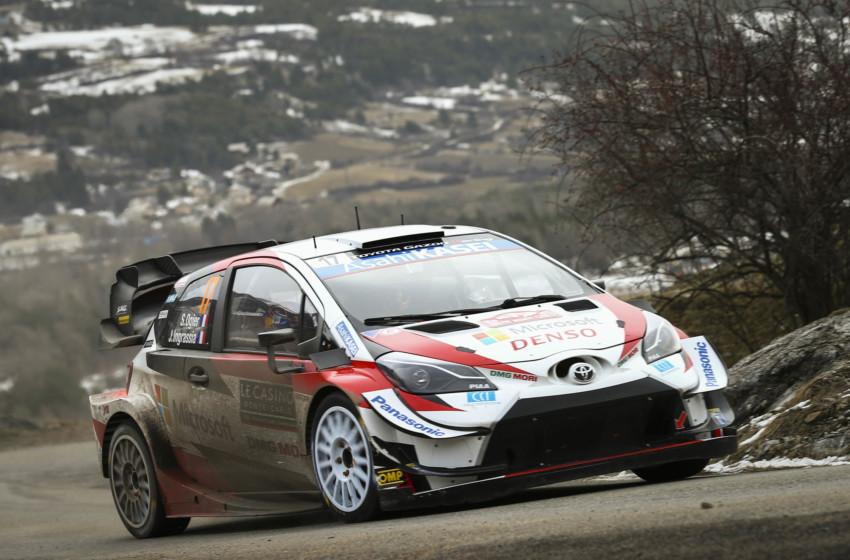Toyota, Monte Carlo'da sezona çifte podyumla başladı