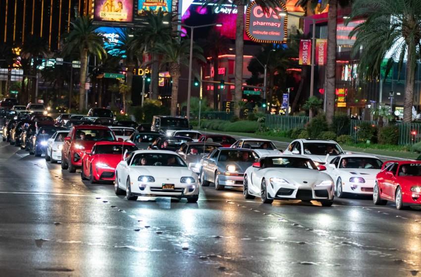 Supra fanları Las Vegas'ta toplandı