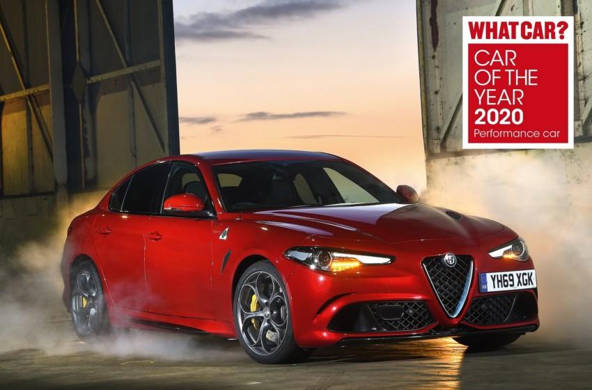 Alfa Romeo Giulia Quadrifoglio ödülde hat-trick yaptı