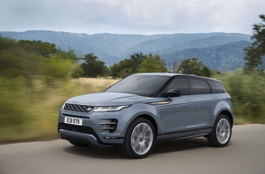 Yeni Evoque,Borusan Otomotiv Land Rover Showroom'larında