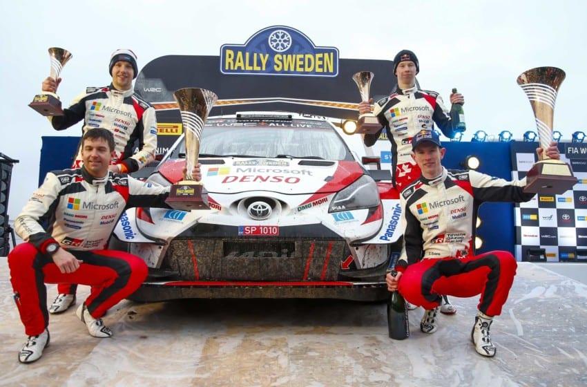 İsveç Rallisi'nde Toyota fırtınası
