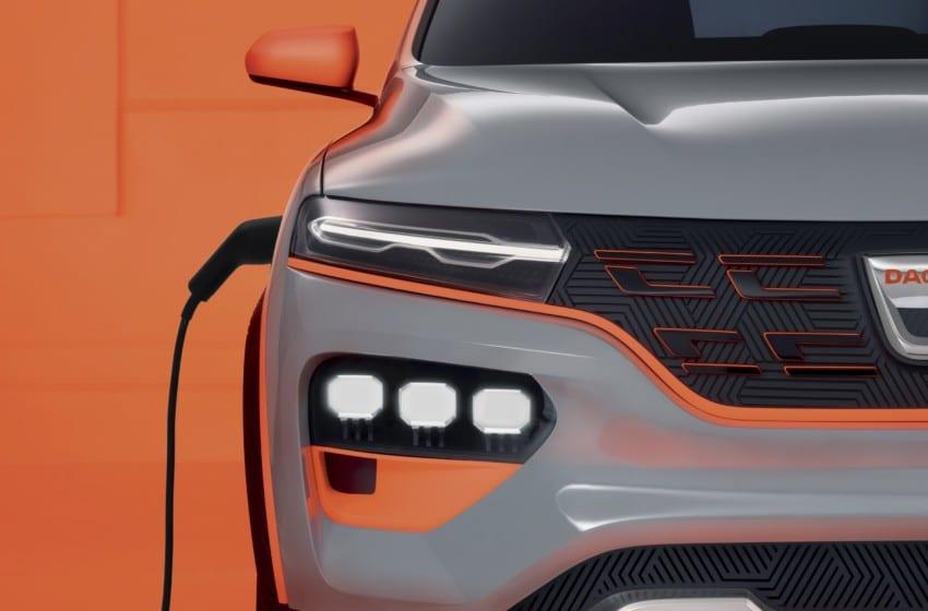 Dacia Spring elektrikli showcar