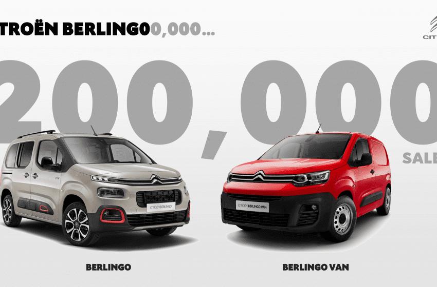 Berlingo'nun satış başarısı
