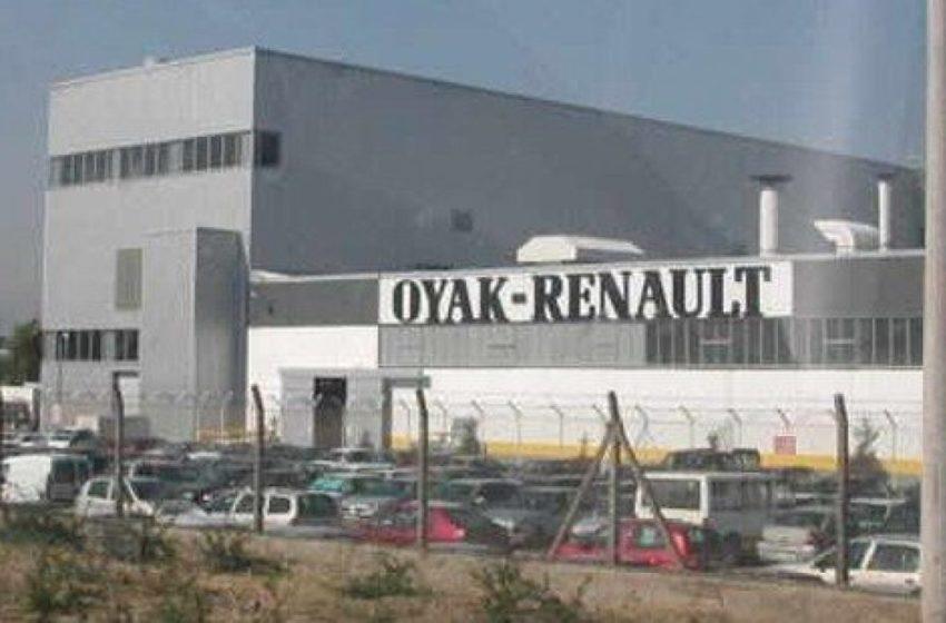 OYAK Renault üretime ara verdi