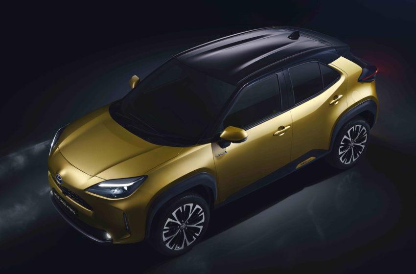Toyota'dan yepyeni B-SUV: Yaris Cross