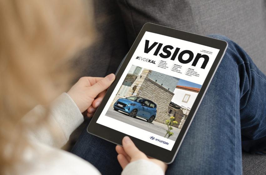 Hyundai Vision dergisi yayında
