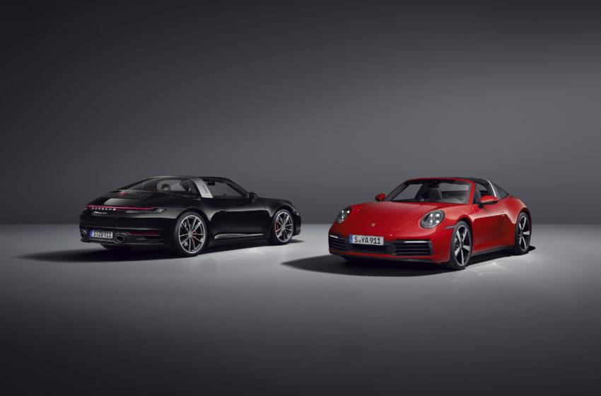 Yeni Porsche 911 Targa tanıtıldı