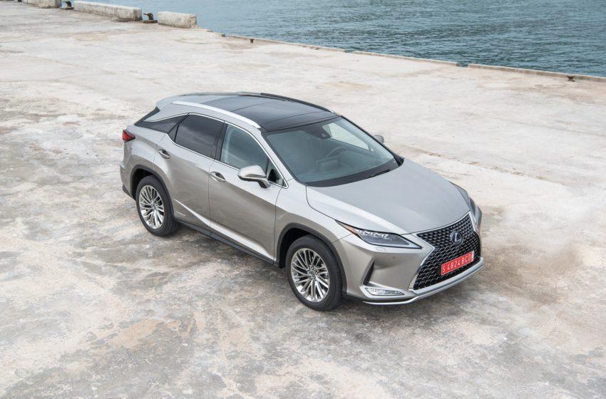 Yenilenen Lexus RX Türkiye'de