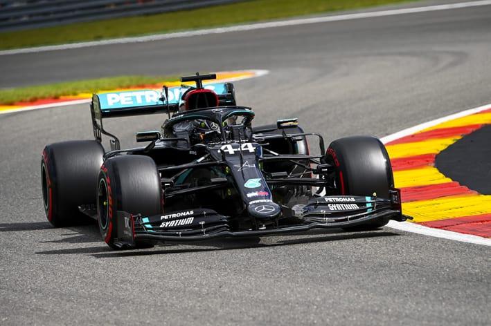 Belçika GP'sinde Mercedes-AMG duble yaptı