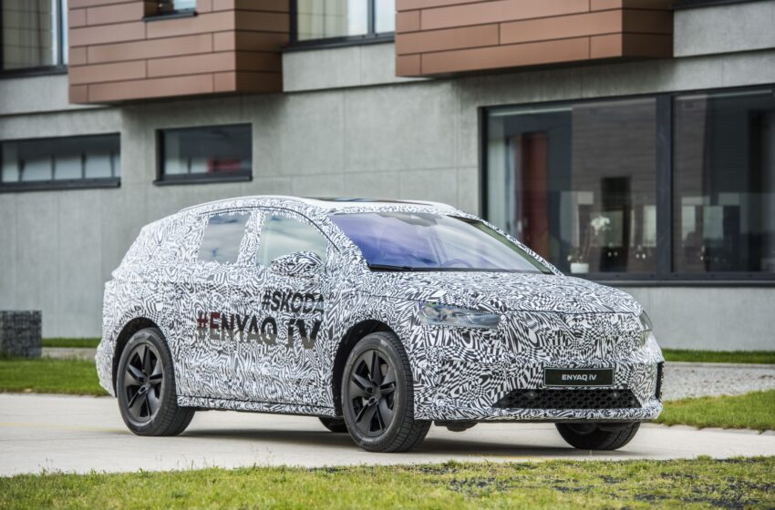 ŠKODA'nın elektrikli SUV'u ENYAQ 1 Eylül'de ortaya çıkıyor