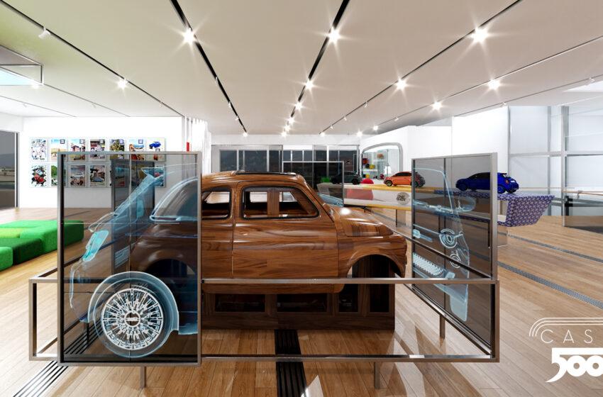 Fiat 500, yeni yaşını sanal müze Virtual Casa 500 ile karşıladı