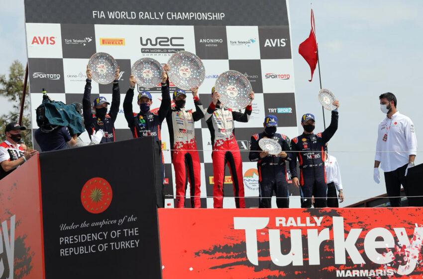 WRC'nin en zorlu yarışında zafer Evans'ın