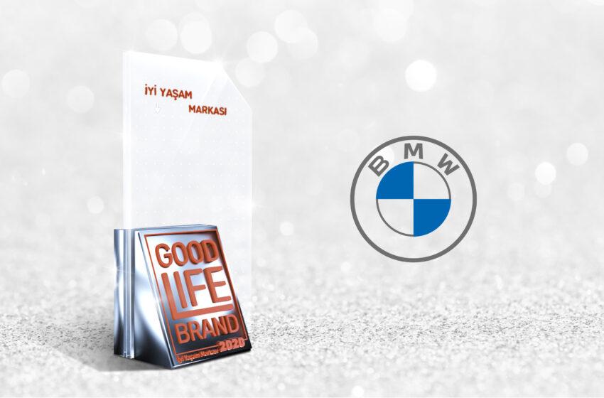 Otomotivde İyi Yaşam Markası Ödülü BMW'nin