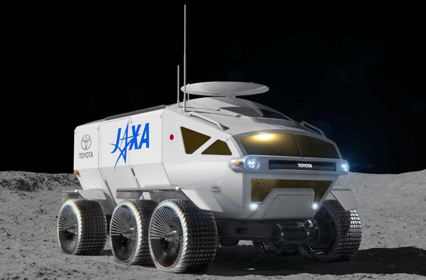 Toyota'nın ay aracının adı Lunar Cruiser