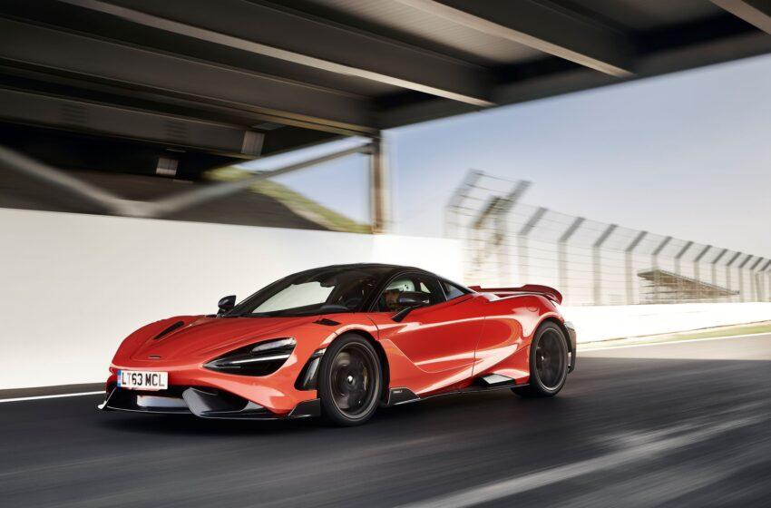 En hızlı McLaren'e lastikler İzmit'ten