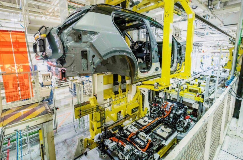 Tam elektrikli XC40 Recharge üretimi başladı