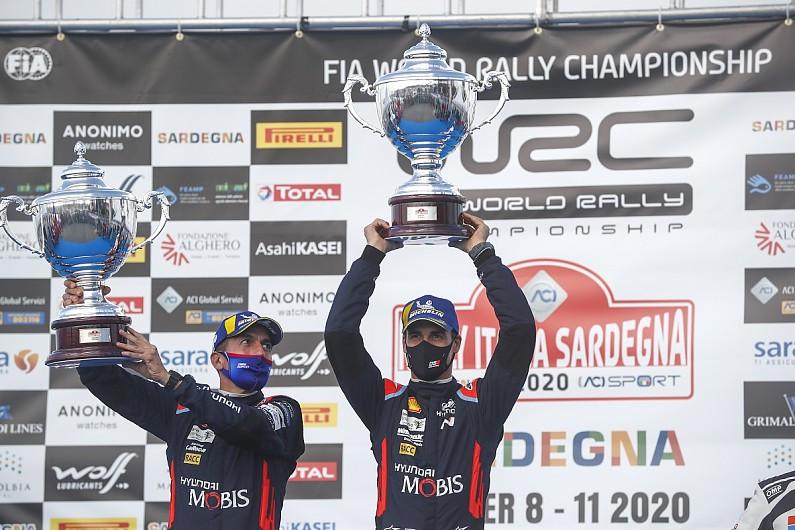 WRC'de İtalya Rallisi Sordo'nun