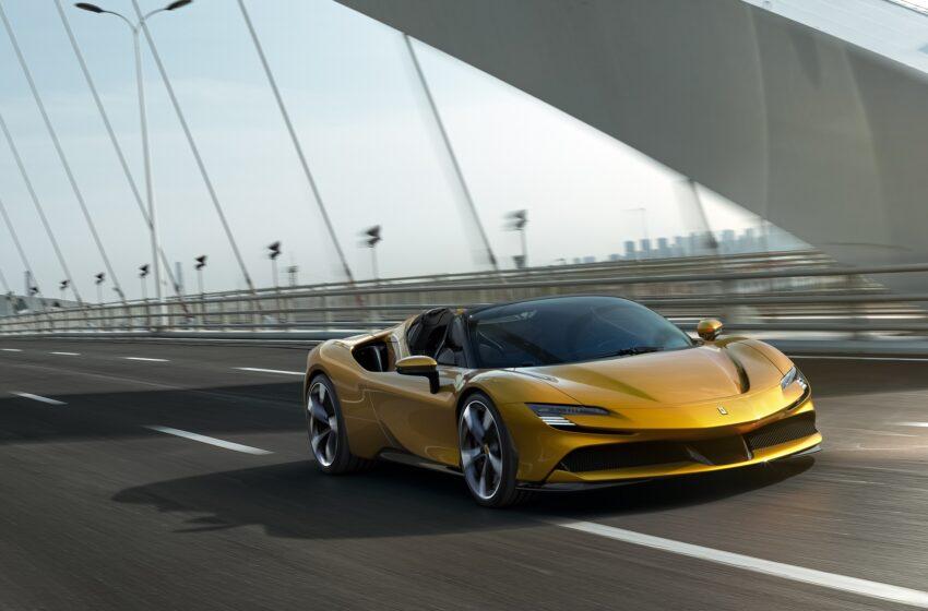 Tüm zamanların en hızlı cabriosu tanıtıldı: Ferrari SF90 Spider