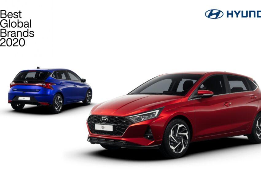 Hyundai Interbrand Otomotiv Kategorisi'nde Top 5'e yükseldi