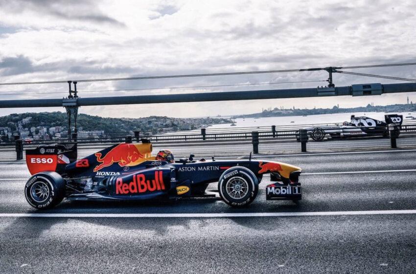 F1 için şahane tanıtım fotoğrafları