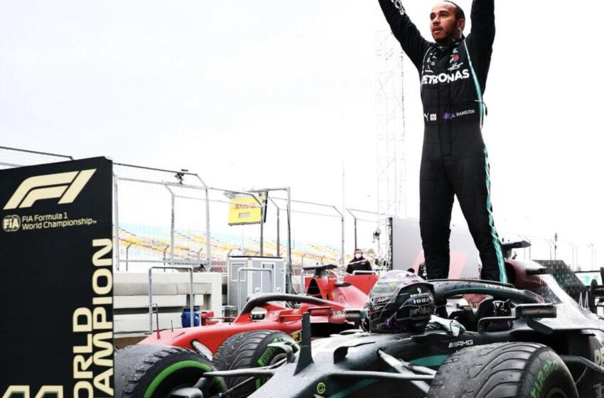 Lewis Hamilton İstanbul'da 7. Dünya Şampiyonluğu'nu kazandı