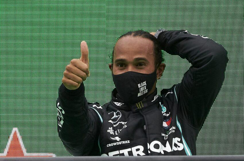 Hamilton'dan mesaj var