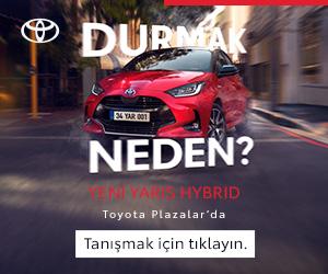 Yeni Yaris Hybrid reklamı