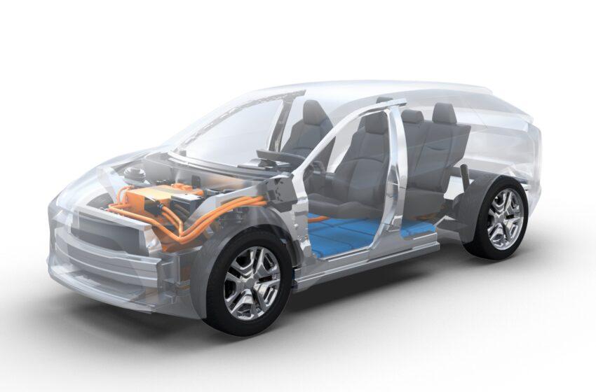 Subaru'dan Avrupa için tam elektrikli model