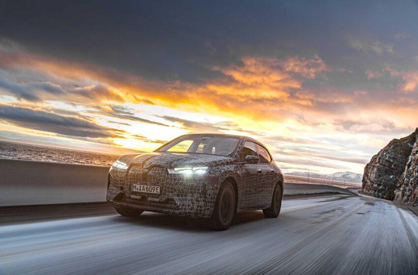 BMW iX en zorlu kış şartlarında testte