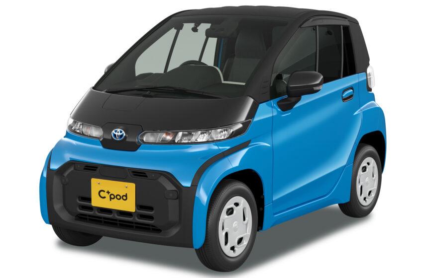 Toyota'nın iki kişilik elektriklisi C+Pod yollarda