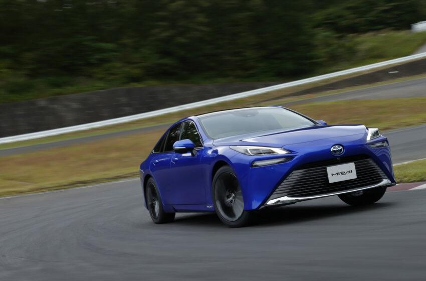 Hidrojen yakıtlı Toyota Mirai'nin 2. nesli yollarda