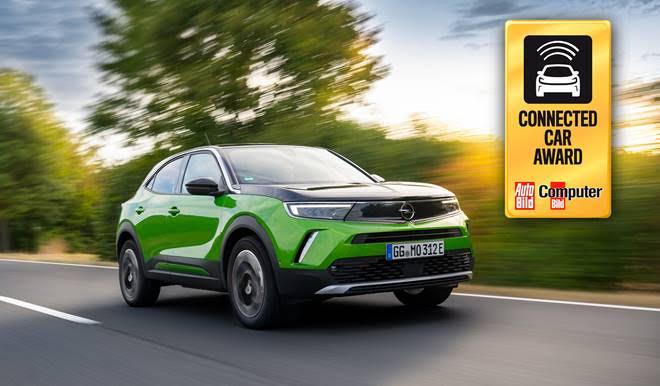"""Yeni Opel Mokka, """"2020 Bağlanabilir Otomobil Ödülü'nü"""" kazandı"""