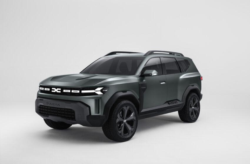 Dacia Bigster Concept ile yeni bir döneme adım atıyor