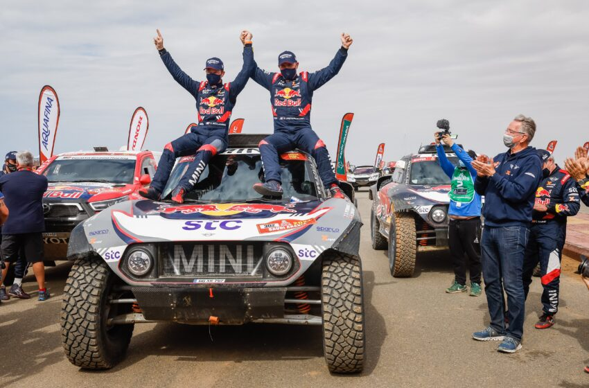 Dakar Rallisi'nde zafer 14. kez Peterhansel'in