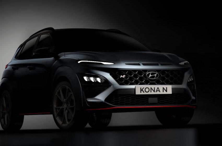 Hyundai Kona N ortaya çıktı