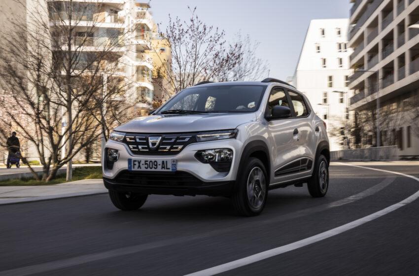 Dacia'ya elektrikli Spring ile bahar geliyor