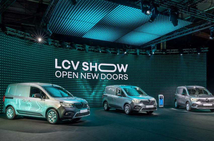 Renault hafif ticari ürün gamının %75'ini yeniledi