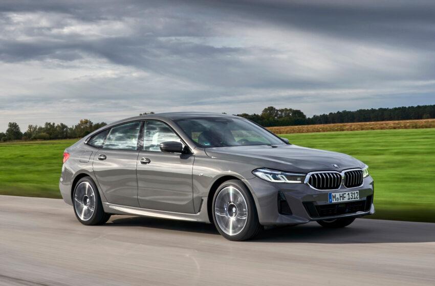 Yeni BMW 6 Serisi Gran Turismo yollara çıkıyor