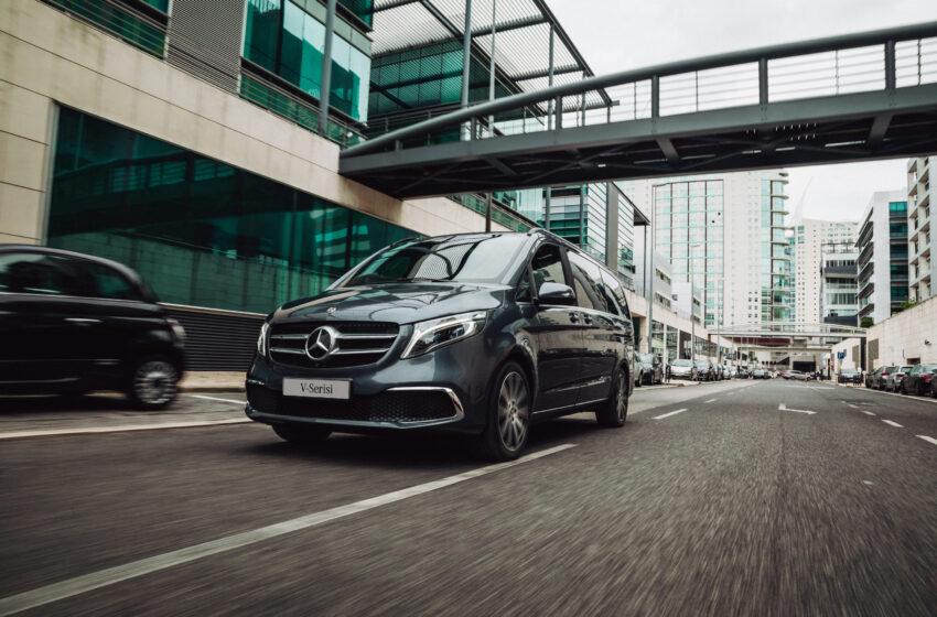 Yeni Mercedes-Benz V-Serisi Türkiye'de