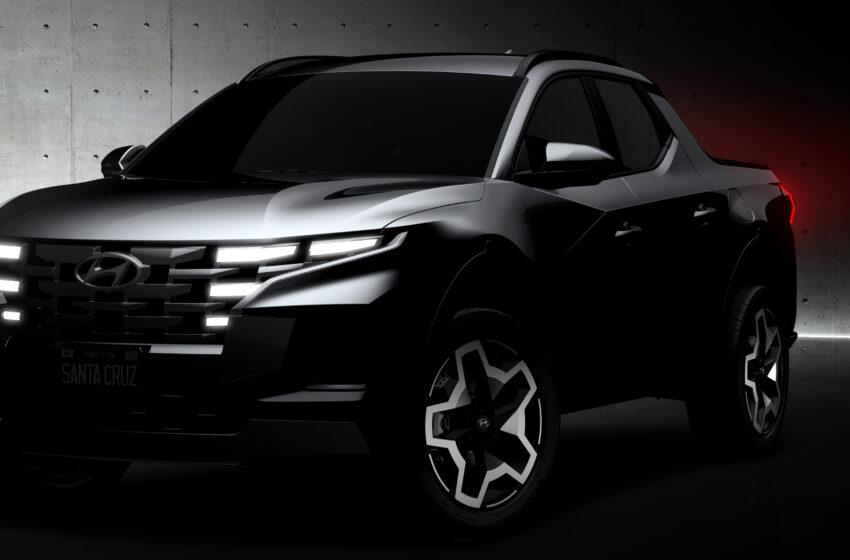 Hyundai, Santa Cruz'dan ilk esintileri paylaştı