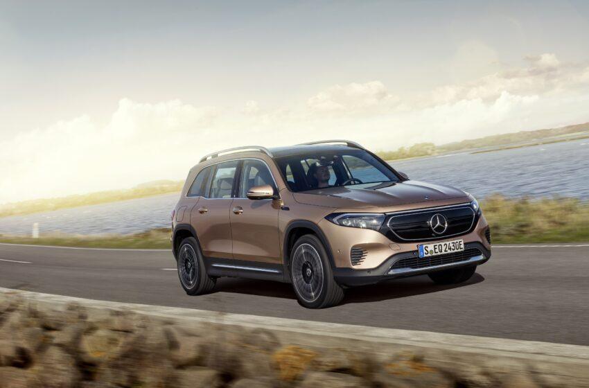 Tamamen elektrikli Mercedes kompakt SUV'u EQB tanıtıldı